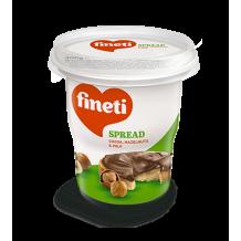 380 гр. Течен шоколад Fineti кафяв