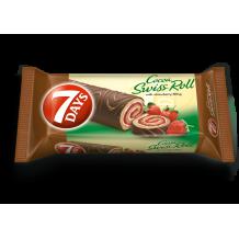 200 гр. Руло 7 Days ягода с глазура