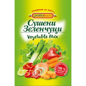 100 гр. Зеленчуков микс Радиком