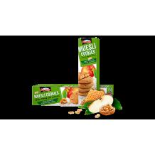 110 гр. Мюсли бисквити Боровец с ябълка, мед и орехи