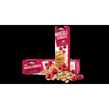 110 гр. Мюсли бисквити Боровец с червена боровинка и фибри