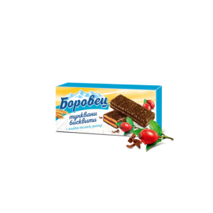 216 гр. Тунквани бисквити Боровец със сладко от шипки