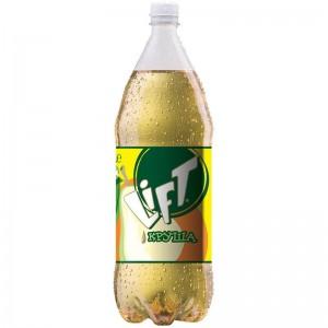 2 л. Газирана Напитка Lift Круша