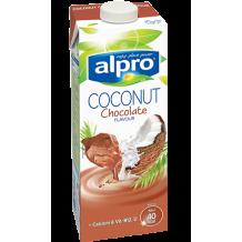 Alpro Кокосово Мляко напитка с шоколад 1 л.