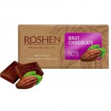 90 гр. Шоколад Roshen Дарк 80% Брут