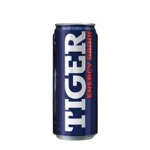 250 мл. Енергийна напитка Тайгър син