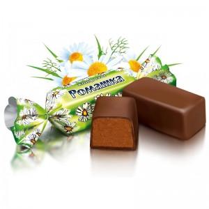 1 кг. Бонбони Ромашка пакет Roshen- около 80-85 бр.