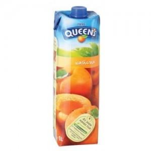 1 л. Натурален сок Queen's Кайсия