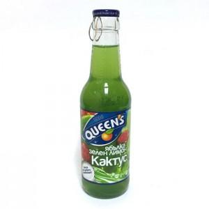 250 мл. Сок Queen's Кактус и Зелен Лимон