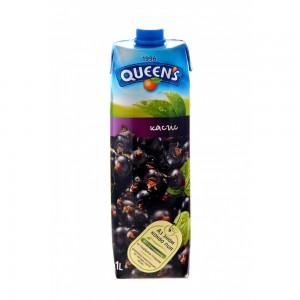 1 л. Натурален сок Queen's Касис