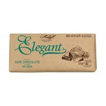 50 гр. Натурален  шоколад без захар  ELEGANT