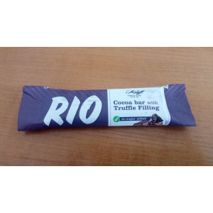 30 гр. Какаов бар RIO с пълнеж трюфел без захар