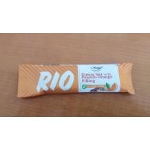 30 гр. Какаов бар RIO с фъстъчено-портокалов пълнеж без захар