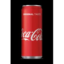 330 мл. Кока Кола кен
