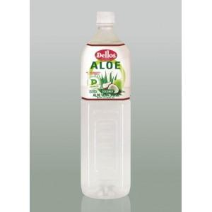 1.5 л. Напитка Dellos Алое Вера с кокосова вода