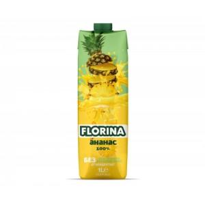 1 л. Натурален сок Ананас 100% Florina