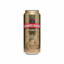 500 мл. Бира Damburger Gold 4.2% кен