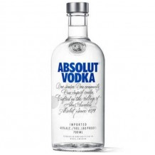 700 мл. Водка Absolut Blue