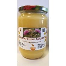 900 гр. Натурален пчелен мед от магарешки бодил ЗП Макавеев