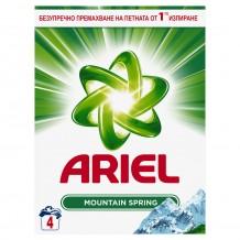 260 гр. Прах за пране Ariel Mountain Spring 4 пранета