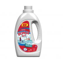 1.1 л. Течен перилен препарат Bonux 3в1 Ice Fresh 20 пранета
