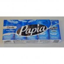 10 бр. Пакет носни кърпи PAPIA