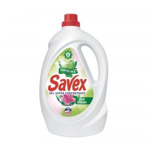 2.2 л. Течен перилен препарат Savex Parfum Lock 2в1 Fresh