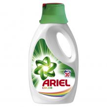 1.1 л. Течен гел за цветно пране Ariel Color за 20 пранета