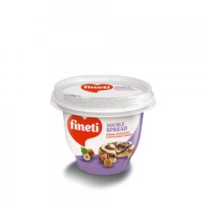 190 гр. Течен шоколад Fineti двуцветен